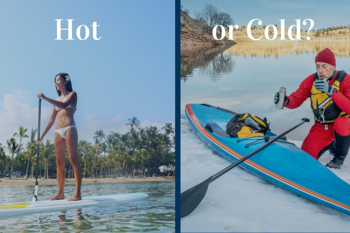 """Featured image for """"Hot or Cold- What's January paddling like in your neighborhood?"""""""