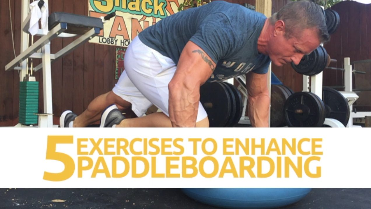 """Featured image for """"5 Strength Exercises For Paddleboarding"""""""