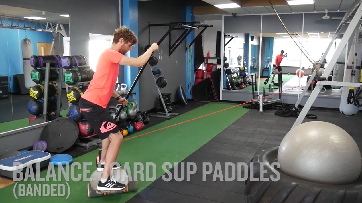 """Featured image for """"BEST BALANCE EXERCISES FOR STAND UP PADDLE BOARDING"""""""