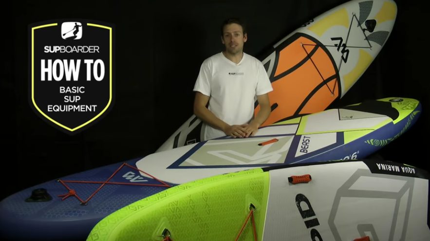 """Featured image for """"Basic SUP equipment / Getting into SUP how to videos"""""""