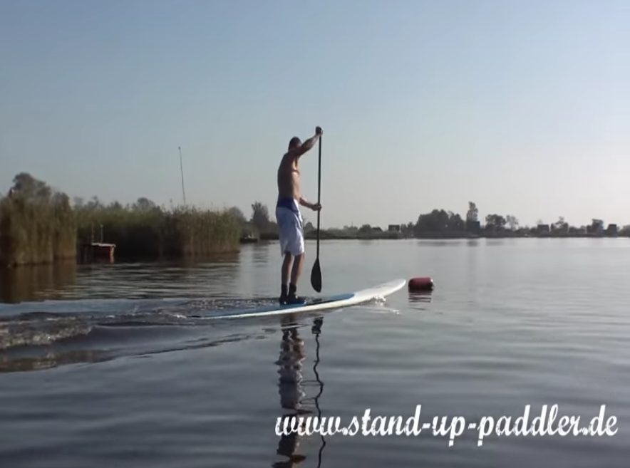 """Featured image for """"SUP Jumpstart – how to stand up paddle"""""""