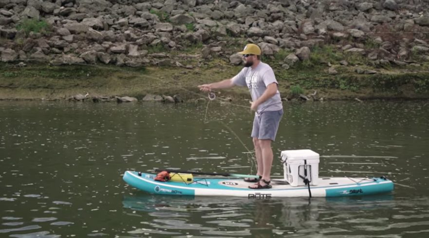 """Featured image for """"Top 5 SUP Fishing Tips"""""""