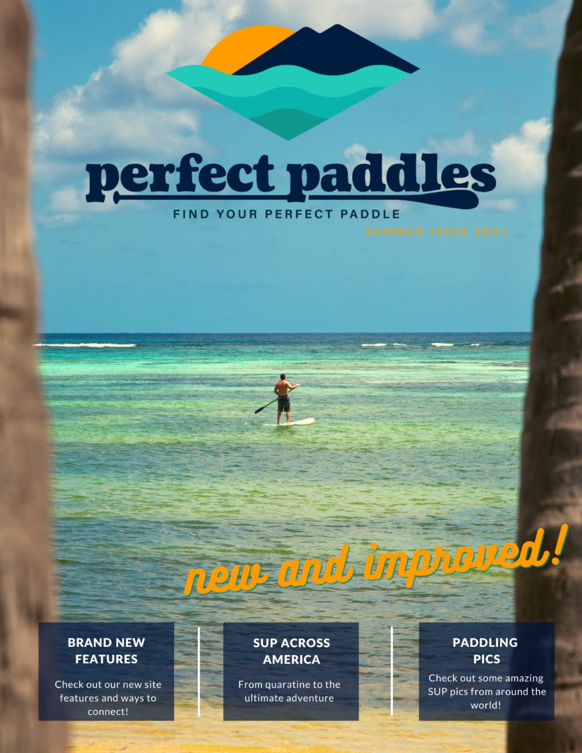 """Featured image for """"Perfect Paddles Summer Issue 2021"""""""